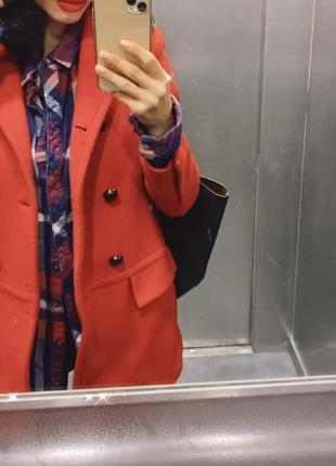 Шерстяне пальто тренд 2020