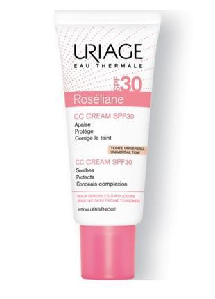 Roséliane - cc cream spf30 uriage корректирующий сс крем