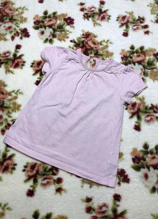 Детская футболка george ( джордж 9-12 месяцев 74-80 см оригинал розовая)