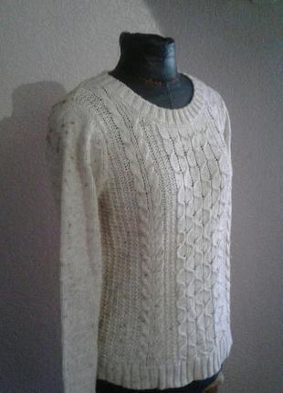 Теплый свитер размер 12