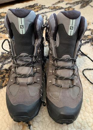 Salomon conquest gtx women grey 361908 trekking boots goretex ** rrp 159,95