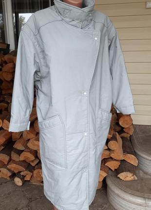 Удлиненная куртка модель оверсайс