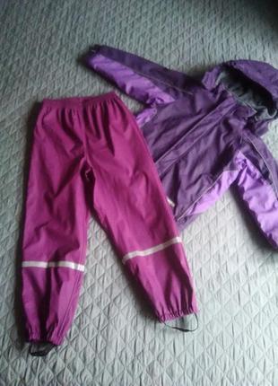 Дождевик комбинезон костюм непромокаемый грязепруф комплект штаны куртка