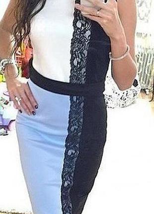 Стильное нарядное платье 42-44р.