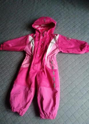 Дождевик комбинезон утеплённый демисезон зимний непромокаемый костюм грязепруф