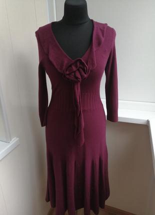 Стильное вязаное платье per una