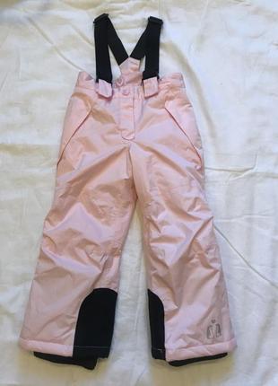 Зимние/лыжные штаны, полукомбинезон lupilu