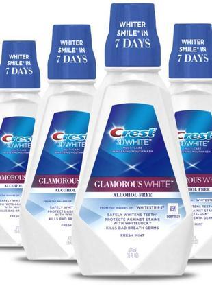 Ополаскиватель для полости рта crest 3d white glamorous white