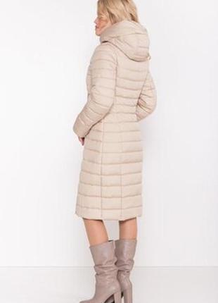 Стильный теплый зимний пуховик куртка с капюшоном