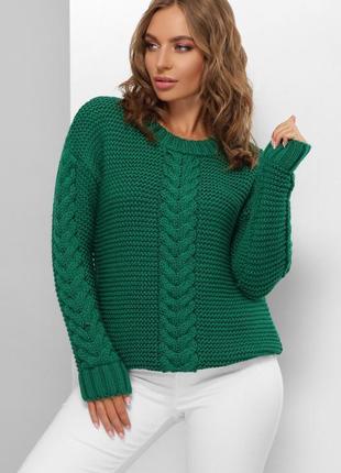 Женский свитер крупной вязки №182 marse