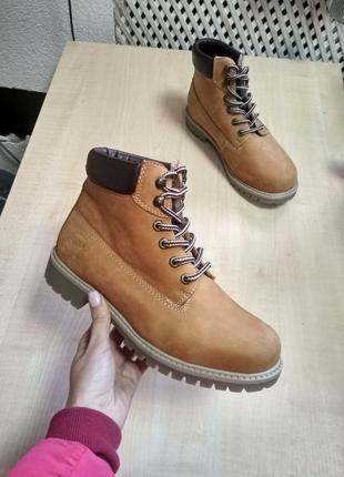 Нубукові черевики dockers