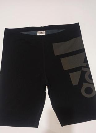 Оригинальные лосины шорты , велосипедки adidas infinitex+
