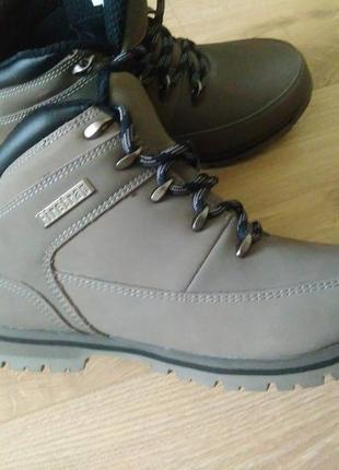 Новые кожаные ботинки firetrap/ботинки/ качественная зимняя обувь