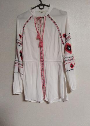 Блузка с вышивкой, вышиванка river island