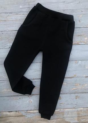 Спортивные штаны с начесом на флисе