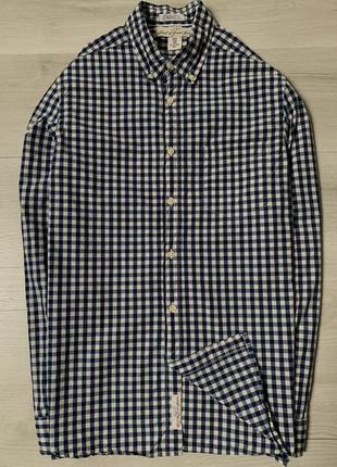 Прикольна сорочка в клітинку від h&m