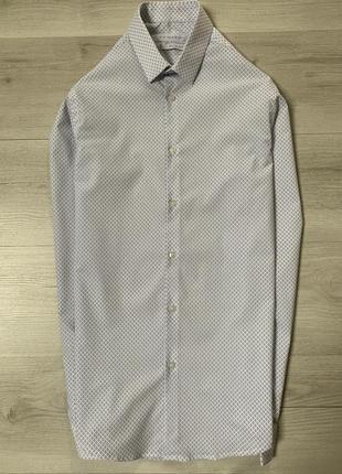 Новенька приталена сорочка від primark slim fit
