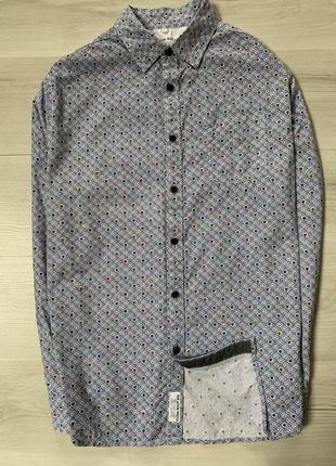 Яскрава чоловіча сорочка від john rocha regular fit