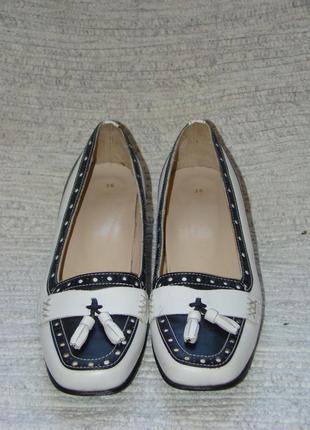 ... Мокасіни(мокасины)туфлі шкіряні на низькому каблуку5 b7939cd9fa51b