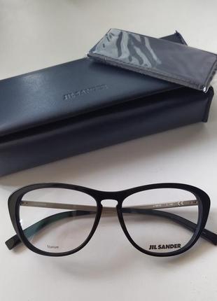 Новые очки jil sander титановая оригинал оправа премиум жиль сандер