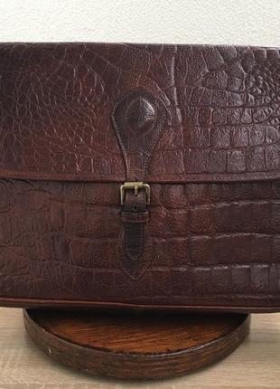 Mulberry nile briefcase - портфель с кожи нильского крокодила