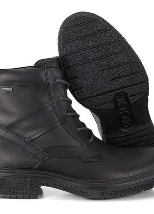 Мужские ботинки ecco gore-tex®, оригинал, натуральная кожа 44