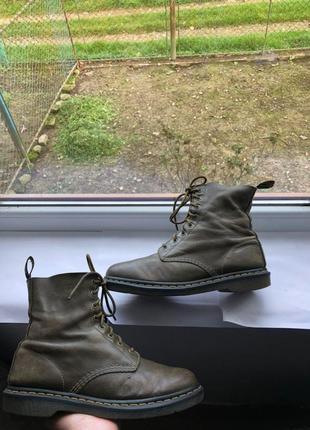 Мужские ботинки берцы черевики dr. martens