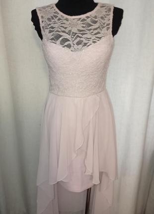 Платье выпускное,свадебное, вечернее со шлейфом