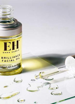 Увлажняющее масло brilliance facial oil от emma hardie