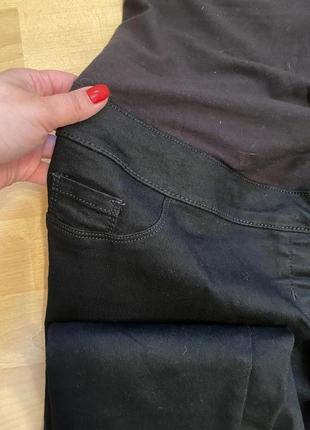 Чёрные джинсы батал для беременных marks & spenser