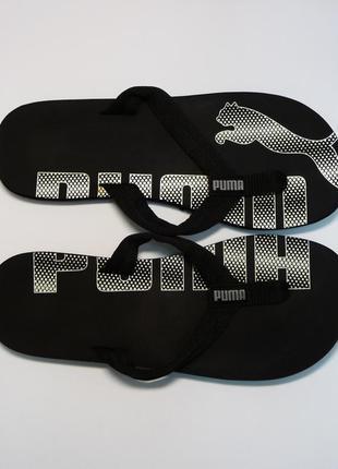 Puma вьетнамки, шлепки, шлепанцы, сланцы черные 37 размер, цена ... 37e14524568