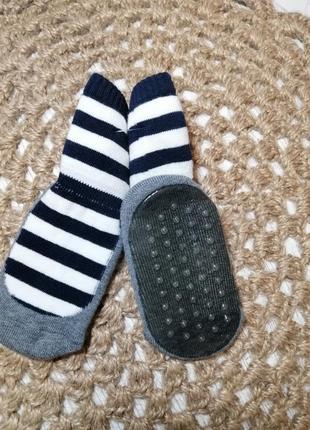 Носки тапки махровые