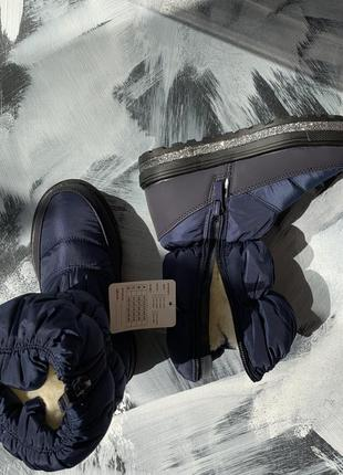 Дутики зимние, зимние сапоги4 фото