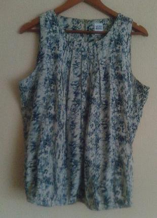 Фирменная итальянская блуза в змеинный принт от vero moda