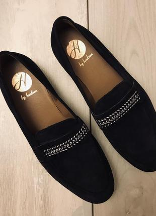 Новые замшевые туфли hampton 45р.