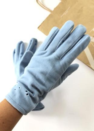 Новые перчатки флис размер м