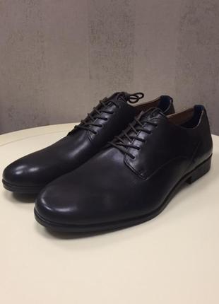 Мужские туфли hudson, новые, кожа, размер 43.