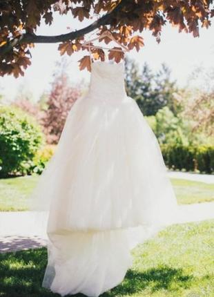 Свадебное платье vera wang оригинал