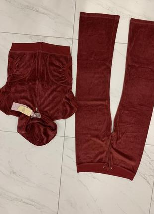 Велюровые костюмы juicy couture новые