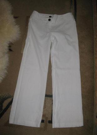 Белые брюки marks spencer