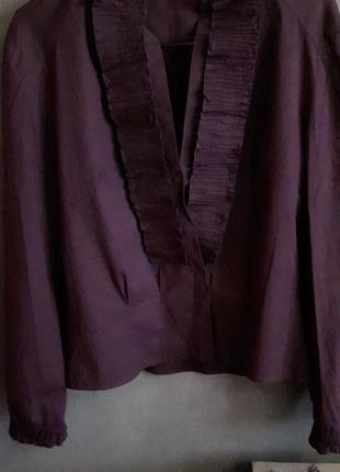Шикарная итальянская блуза miu miu