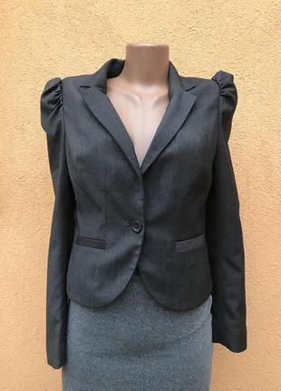 Серый пиджак жакет