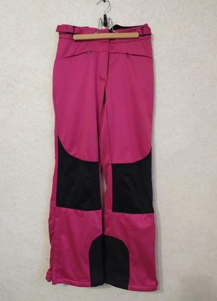 Лыжные  штаны на флисе от crivit
