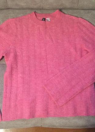 Базовый свитер, кофта укороченная