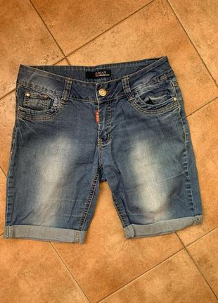 Качественные джинсовые бриджи / шорты