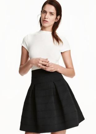 Текстурированная юбка h&m