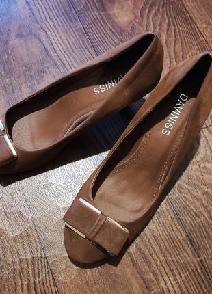 Туфли искусств.замш