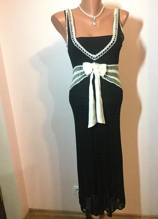 Суперовое фирменное вязанное платье /s/ brend karen millen