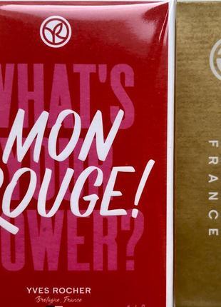 """Парфюмированная вода """"mon rouge"""" от yves rocher ив роше, 50 мл"""