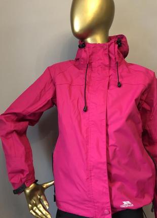 Рожева жіноча лижна курточка